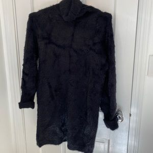 Heart Of The City Black Sweater Dress